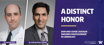 Dr. Roth and Dr. Moussavi-Harami appointed to John and Cookie Laughlin Endowed Professorship