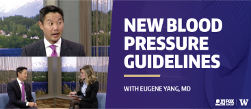 Eugene Yang speaks on new blood pressure guidelines