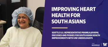 Parmila Jayapal discusses the state of South Asian health