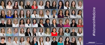 Some of our wonderful women at the division of cardiology at UW