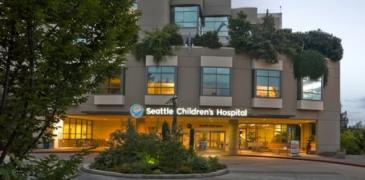 Exterior Seattle Children's Hospital