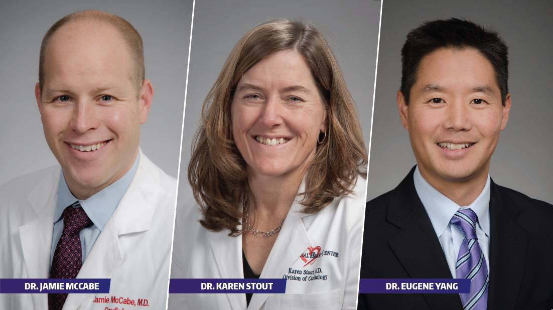 UW Cardiologists selected on Seattle Met's Top Doctors list